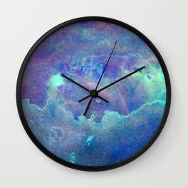 Space Nebula Wall Clock