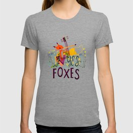 Yes. Foxes. T-shirt