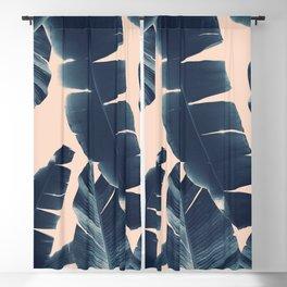 Banana Leaves Summer Vibes #5 #tropical #decor #art #society6 Blackout Curtain