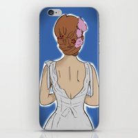 bride iPhone & iPod Skins featuring Bride by Gianni Ballerini