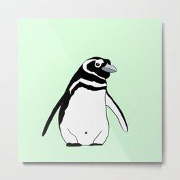 Little African Penguin Metal Print