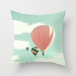 Film Camera (Retro and Vintage Still Life Photography)  Throw Pillow