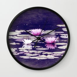 LOTUS I Wall Clock