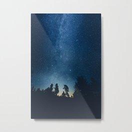 Follow the stars Metal Print