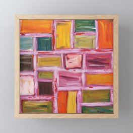 Abstract Painting 76 Framed Mini Art Print