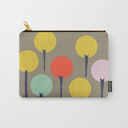 Color Pop Trees Carry-All Pouch