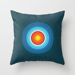 Layers of the Earth Throw Pillow