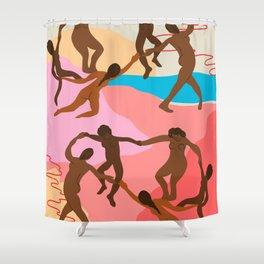 Modern Matisse Shower Curtain
