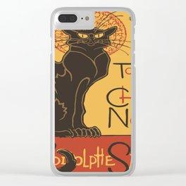 Tournee du Chat Noir De Rodolphe Salis Vector Clear iPhone Case