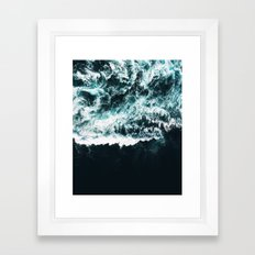Oceanholic #society6 Decor #buyart Framed Art Print