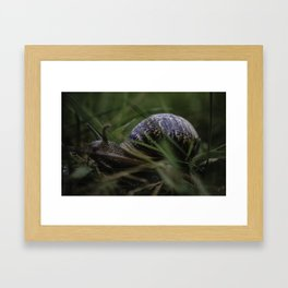 Home is where you park it! Framed Art Print