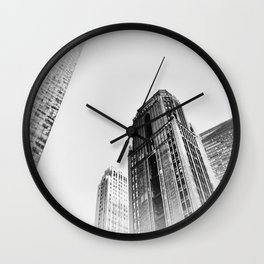 New York cj Wall Clock