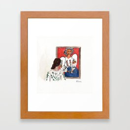 La Blouse Roumaine Framed Art Print