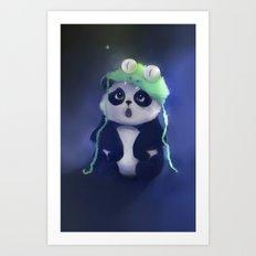 cute absurd Art Print