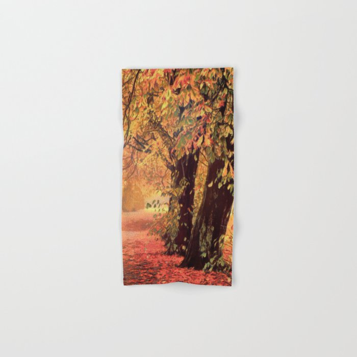 Autumn - the leaves are falling Hand & Bath Towel