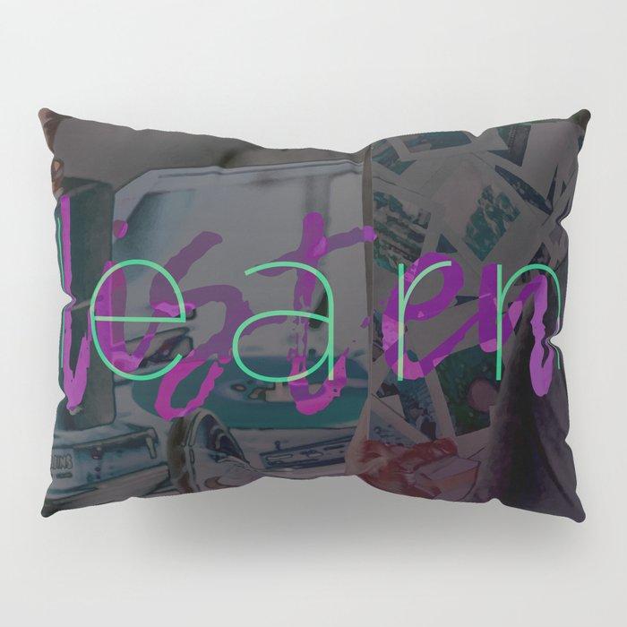 Learn / Listen Pillow Sham