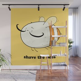 Shave the bees Wall Mural
