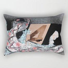 The Lizard (No. 4) Rectangular Pillow