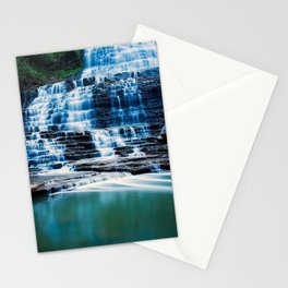 water landscapes nature forests Canada long exposure HDR photography waterfalls ontario albion falls Stationery Cards