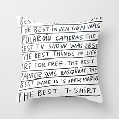 The best title is this one Throw Pillow