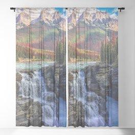 landscape Sheer Curtain