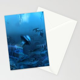 Submarine Stationery Cards