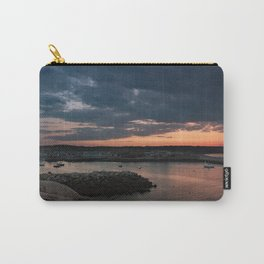 Rockport Harbor Sunset Carry-All Pouch