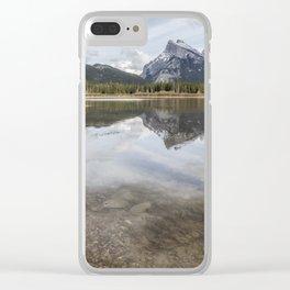 Vermilion Lakes, No. 1 Clear iPhone Case