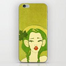 selfie girl_10 iPhone Skin