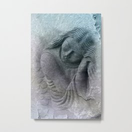 the tired guardian angel -1- Metal Print