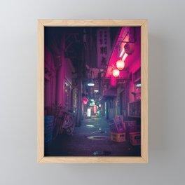 Tokyo Neon Underworld Framed Mini Art Print
