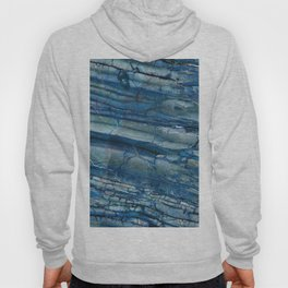 Giusto Azzurro blue marble Hoody