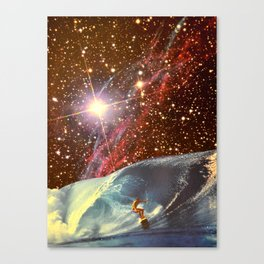Surf Session Canvas Print