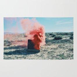PINK SMOKE - SUIT CASE Rug