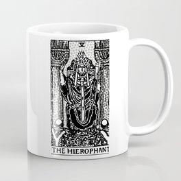 Modern Tarot Design - 5 The Hierophant Coffee Mug