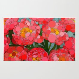 Pink Tulips On Parade! Rug