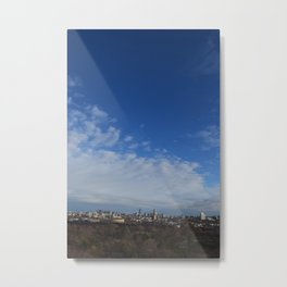 Boston on a Winter's Day Metal Print