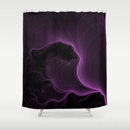 Ultra Violet Shower Curtain