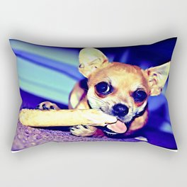 aRCHIE THE cHIHUAHUa Rectangular Pillow