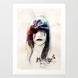 My Memory Of You Art Print