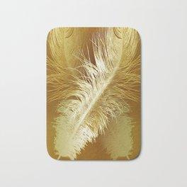 Golden Ostrich Bath Mat