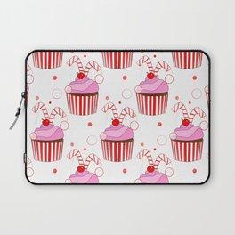 Christmas Cupcakes Laptop Sleeve