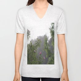 Pink Roses Photos, Wild Roses, Nature Photography, Fine art gifts Unisex V-Neck