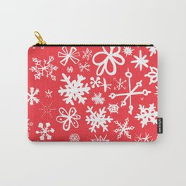 Snowflakes Carry-All Pouch