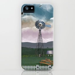 Back on the Farm iPhone Case