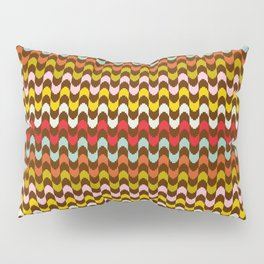 Mod Stripe Pattern Pillow Sham