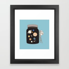 confined space Framed Art Print