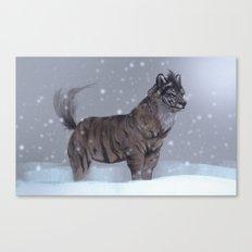 Tiger Wolf! Canvas Print