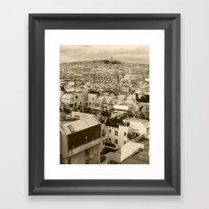 Rooftops of Paris 3 Framed Art Print