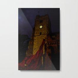 night poppies Metal Print